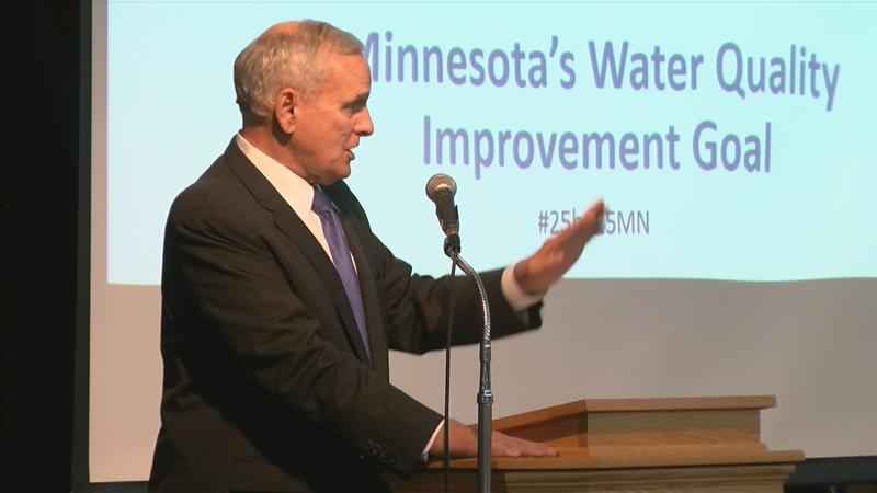 Governor Dayton Addresses Water Quality in Rochester