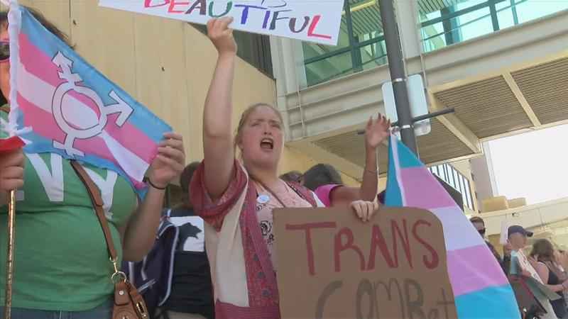 Support Transgender Troops Rally Comes to Rochester