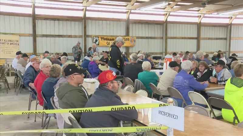 Area Veterans Honor Service with Picnic