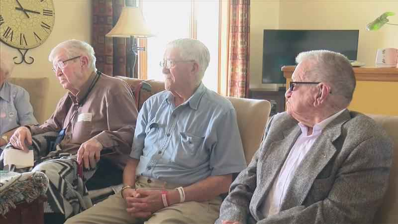 Brothers in Their Nineties Celebrate Special Family Reunion