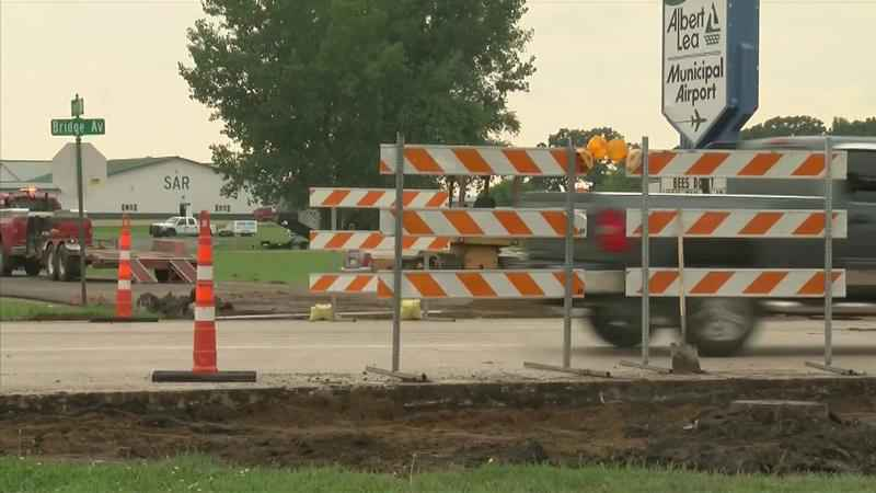 Construction Might Affect Some Students' Commute in Albert Lea