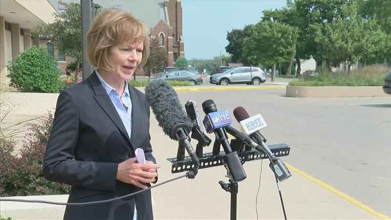 Lieutenant Governor Smith Visits Albert Lea, Calls For Pause to Mayo