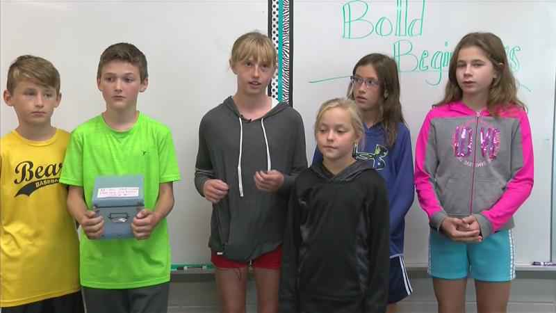 Byron 5th Graders 'Adopt' Hurricane Harvey Victims for Community Service Project
