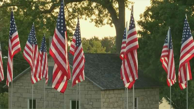 Field of Flags Kicks Off Marigold Days