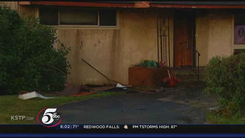 House Fire Rekindles, Engulfing Home in Roseville