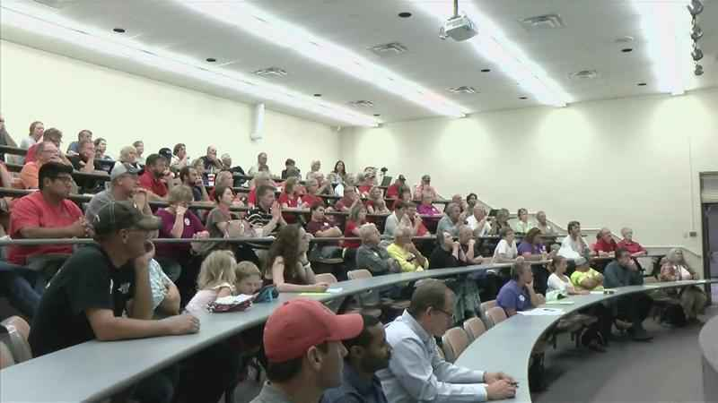 Proposed Wind Farm Meeting Brings out Critics, Supporters