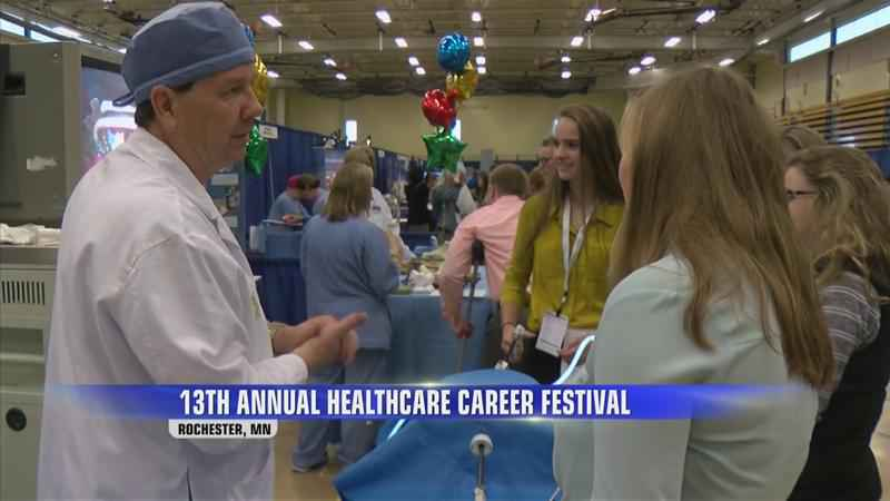 Mayo Hopes to Spark Interest in Healthcare Careers