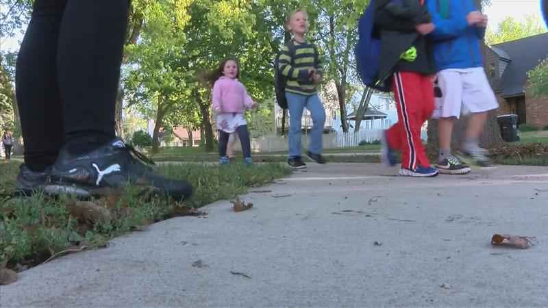 National Walk to School Day Promotes Safety, Exercise