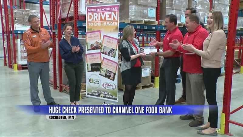 Rochester Motor Cars Donates Over $41,000 to Channel One