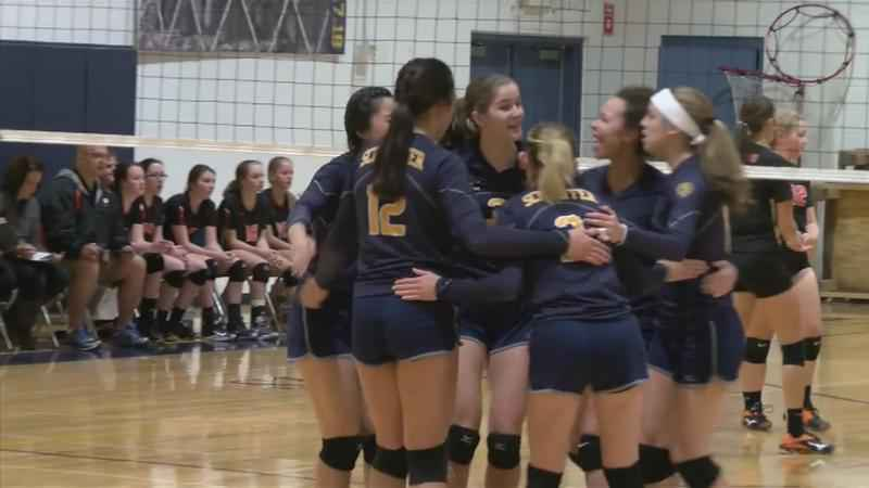 Schaeffer Academy, Lyle/Pacelli Advance in Section Volleyball