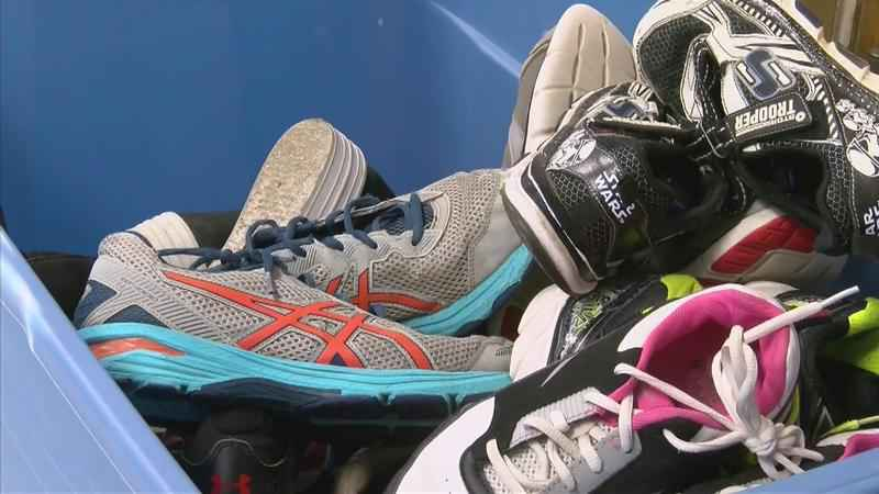Student Shoe Collection Teaches Life Lessons