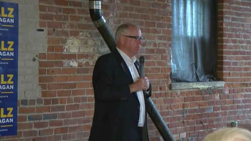 Walz-Flanagan Campaign Holds Kickoff Event in Rochester