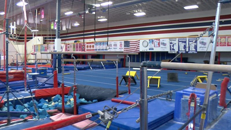 Gym emulates american ninja warrior course videos