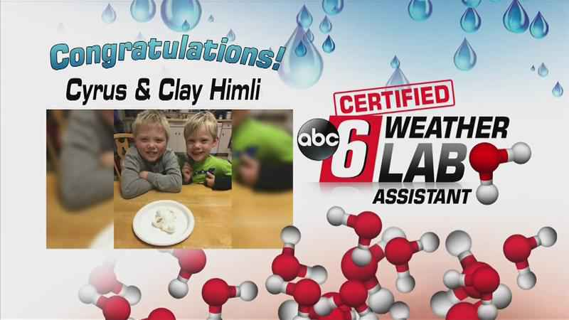 ABC 6 Weather Lab Assistants Cyrus & Clay