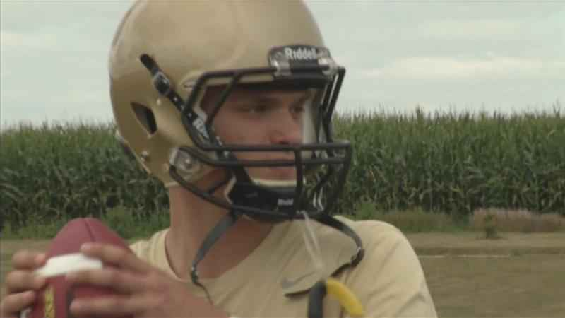 Caledonia's King Finalist for Minnesota Mr. Football
