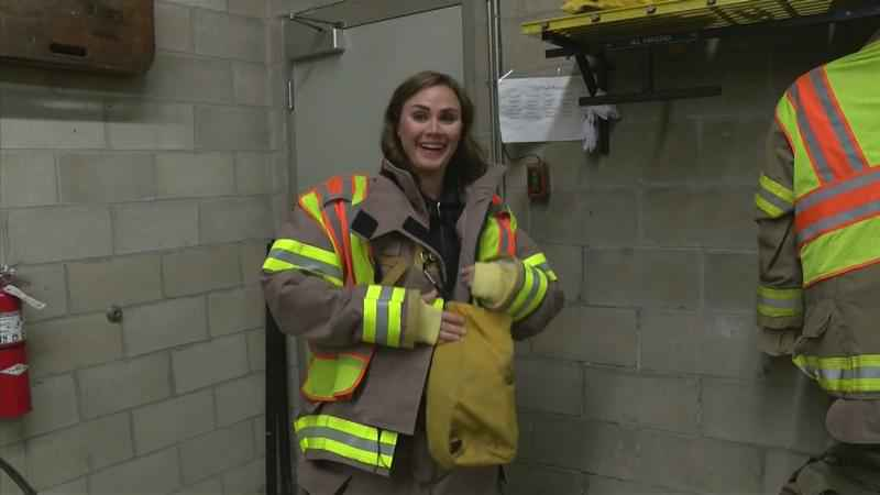 Chatfield's First Female Firefighter