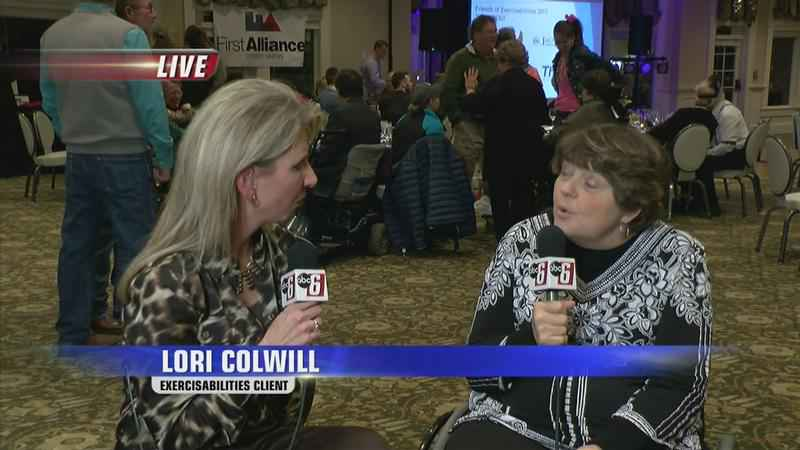Interview with Lori Colwell at Exercisabilities' Annual Fundraising Event