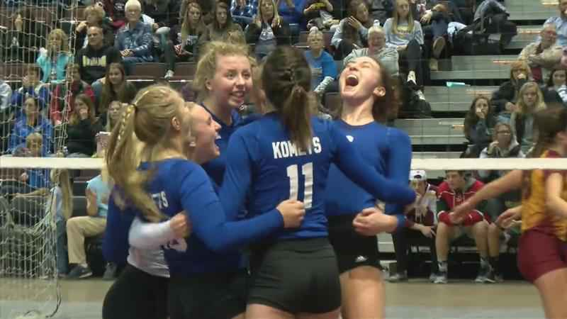 Kasson-Mantorville, Caledonia Advance in Section Volleyball