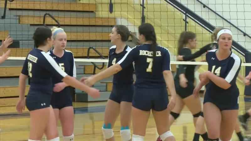 RCTC's Rogers, Wendland named All-Division in Volleyball