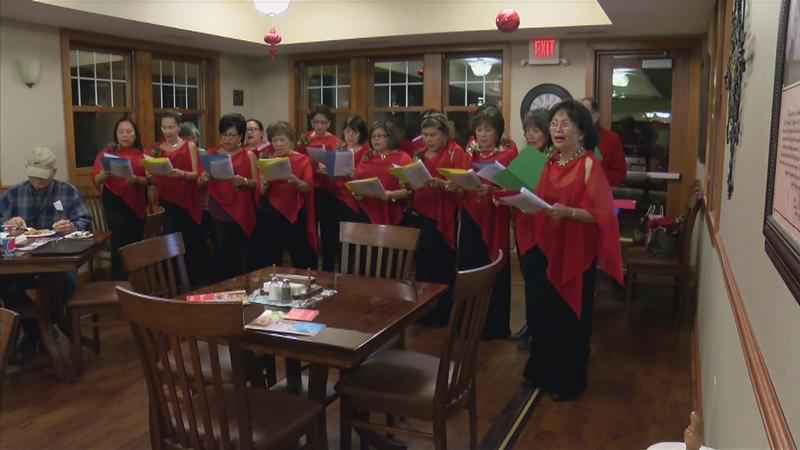 Carolers Visit Gift of Life House