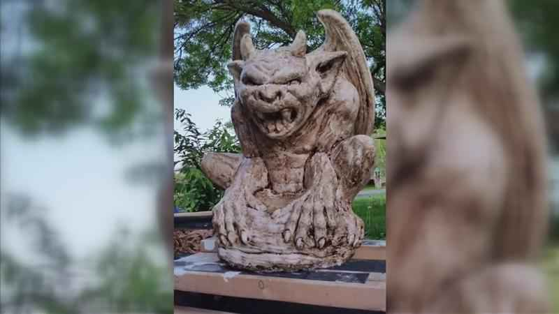 Homeowner Asks for Help in Search of Missing Sculpture Taken from Her Home