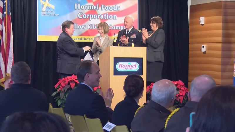 Hormel Receives 'Yellow Ribbon' Designation