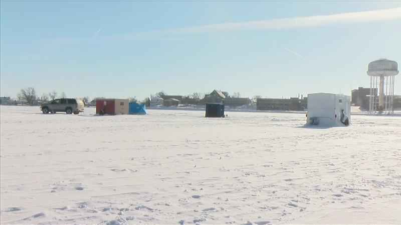 Ice Fishers Brave Cold For Love Of Sport
