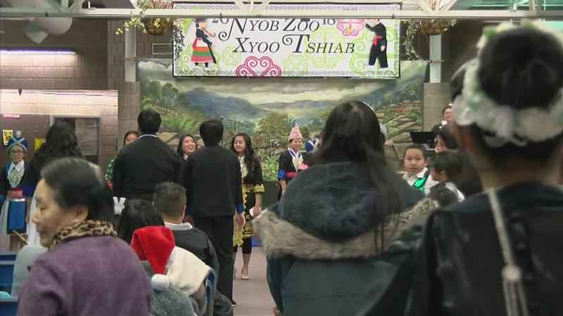 Locals Celebrate Hmong New Year