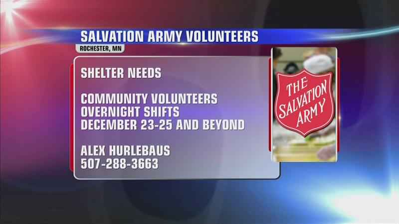 Salvation Army Asks for More Volunteers