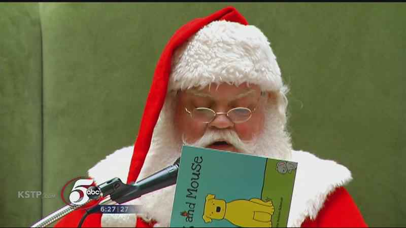 Santa and Sheriff Join Forces to Promote Book Program