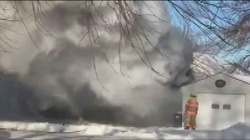 Fire Leaves Hayfield Family Without Home