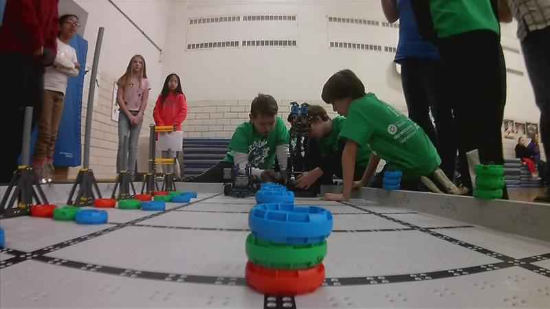 Tournament Gives Elementary School Students Robotics Experience