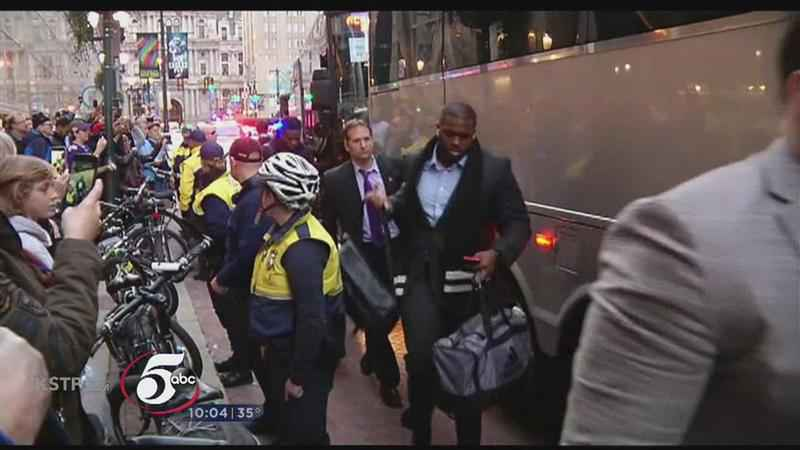 Vikings Arrive in Philadelphia to Face the Eagles<br />