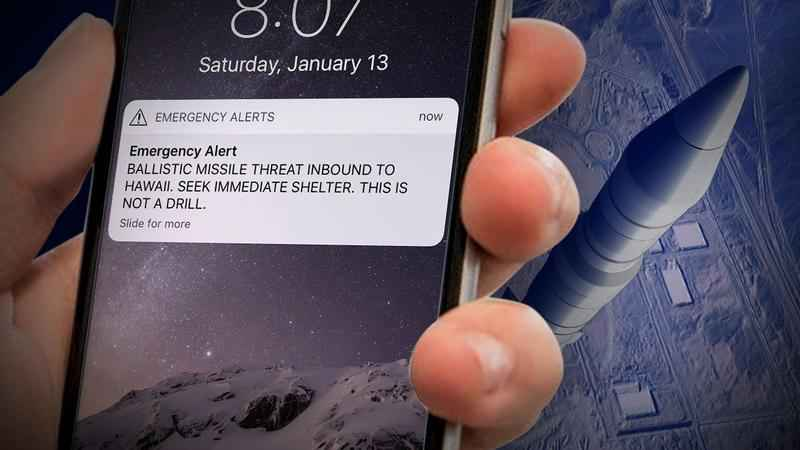 Minutes Passed Before HI Officials Called Feds About Bogus Alert