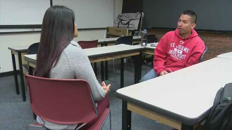 Beat the Odds: Father of Five Strives to Go into Medical Field