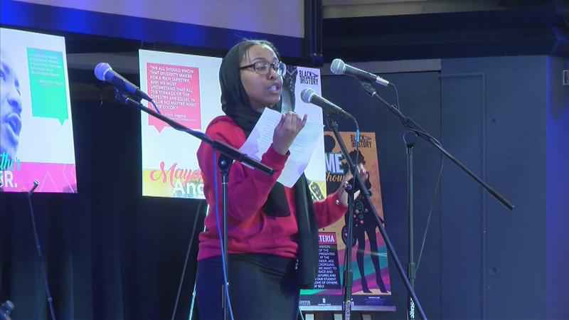 Black History Month Kicks Off with Poetry Slam