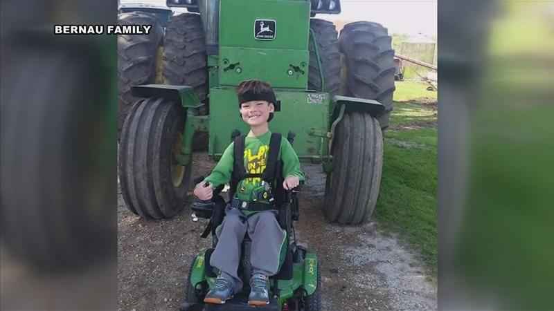 Fountain Boy Named Muscular Dystrophy Association Ambassador