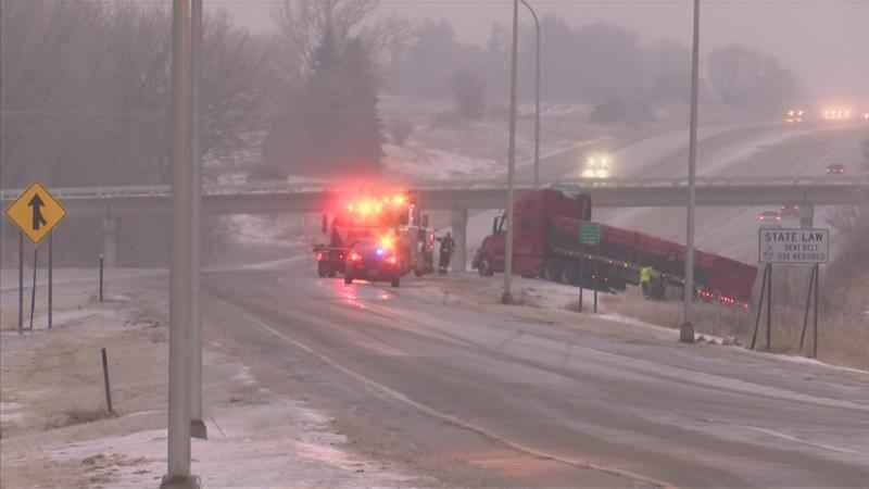 Icy Conditions Create Slick and Dangerous Roads