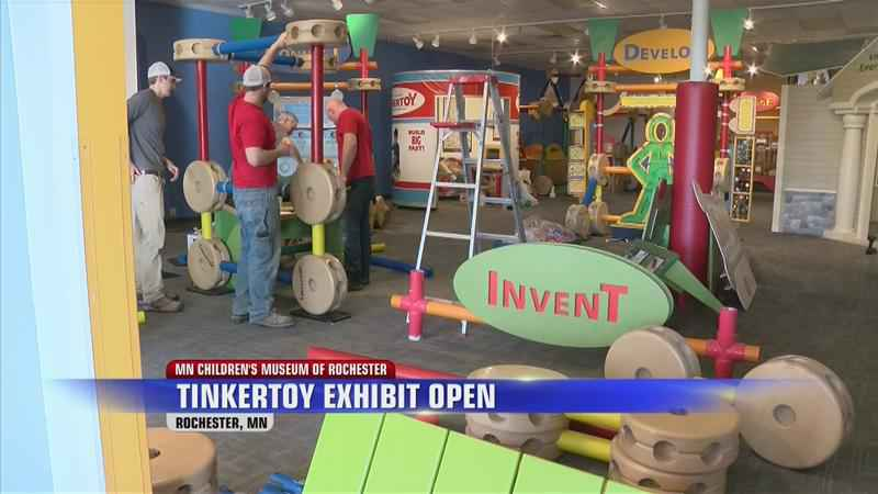 Local Construction Company Helps with Children's Exhibit