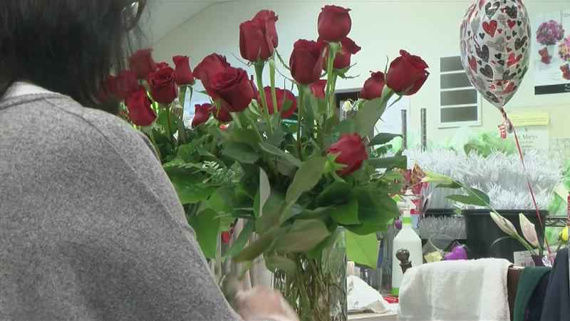 Local Flower Shop Preps for its Busiest Holiday