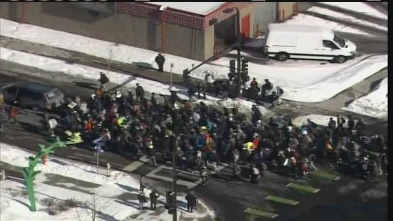 Mayo High School Joins Nationwide Walkout Against Gun Violence