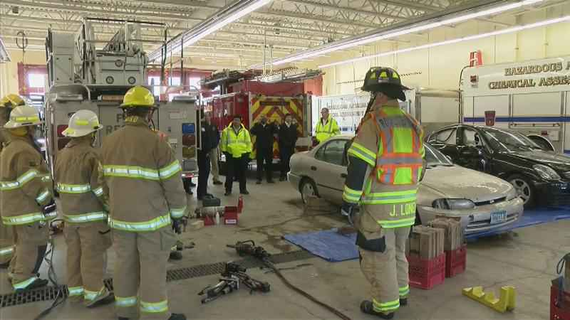 Rochester Firefighters Host Extrication Training Class