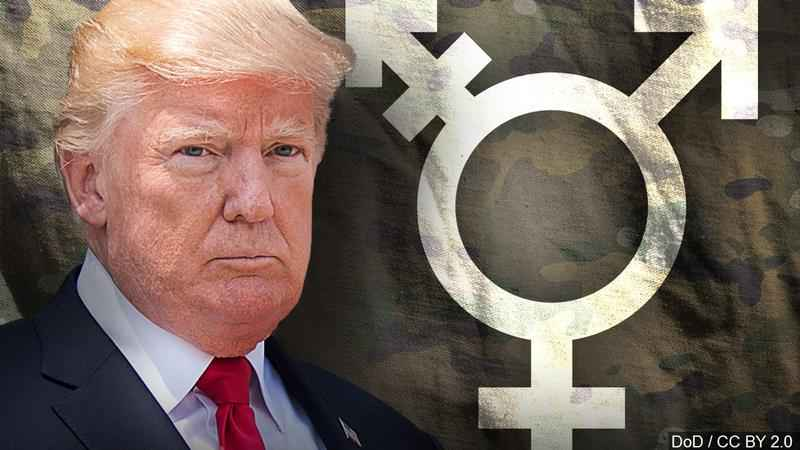 Trump Order Would Ban Most Transgender Troops from Serving
