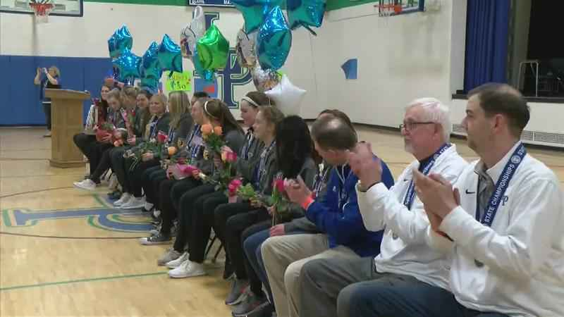 'A Fairytale Story:' Lyle-Pacelli Girls Basketball Team Brings Home First State Championship