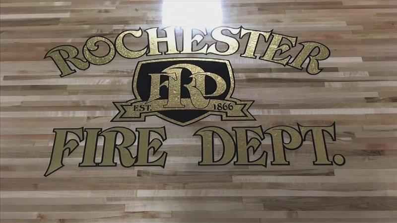 A Rochester Firefighter Incorporates History into a New Table