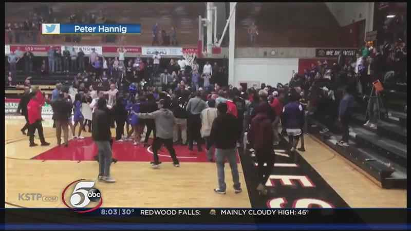 Brawl Ensues at High School Basketball Game in St. Cloud