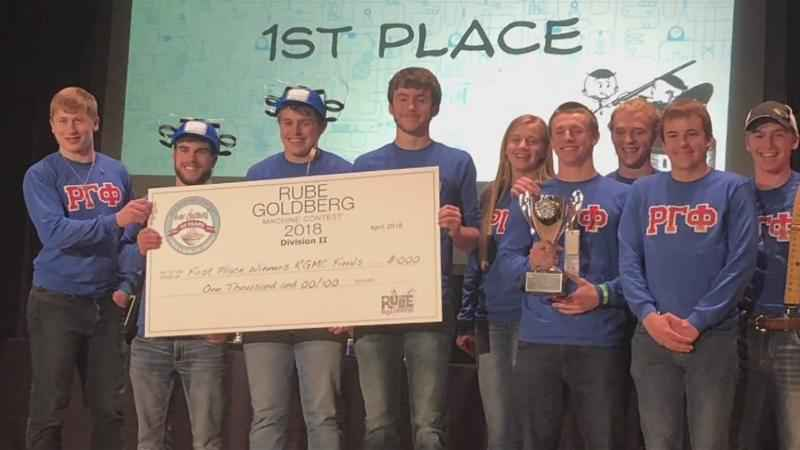 "Chatfield High School ""Rube Goldberg"" take Home First Place"