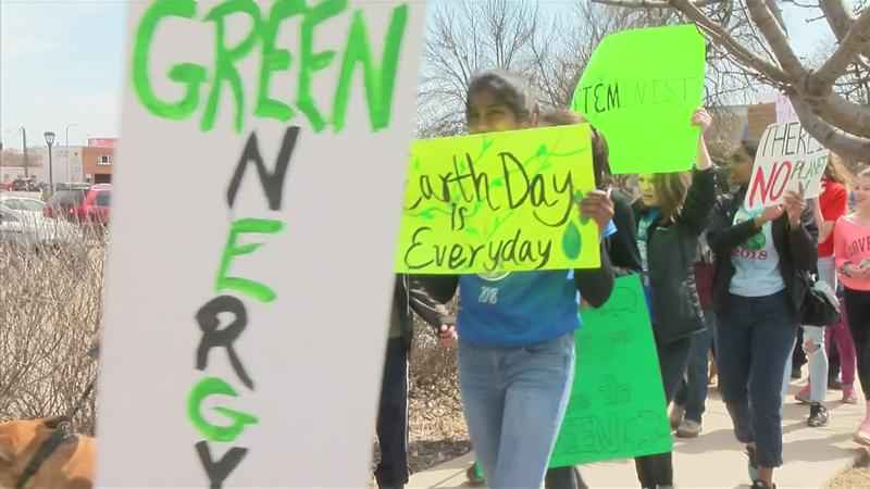 Dozens March in 4th Annual Peoples' Climate March