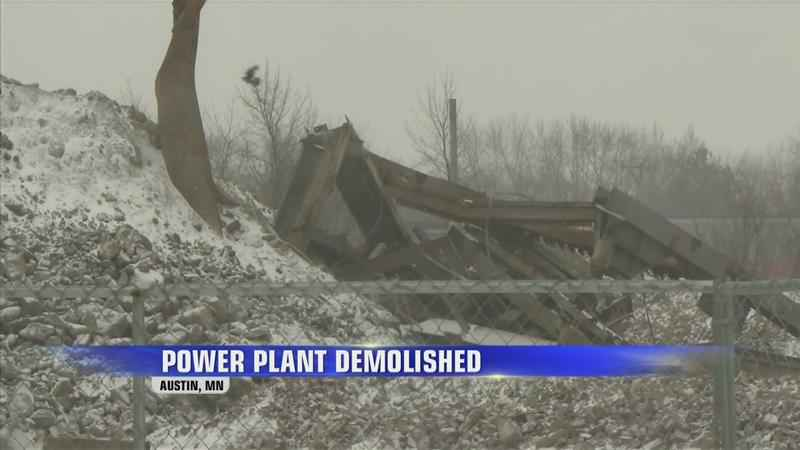 Old Austin Power Plant Totally Demolished