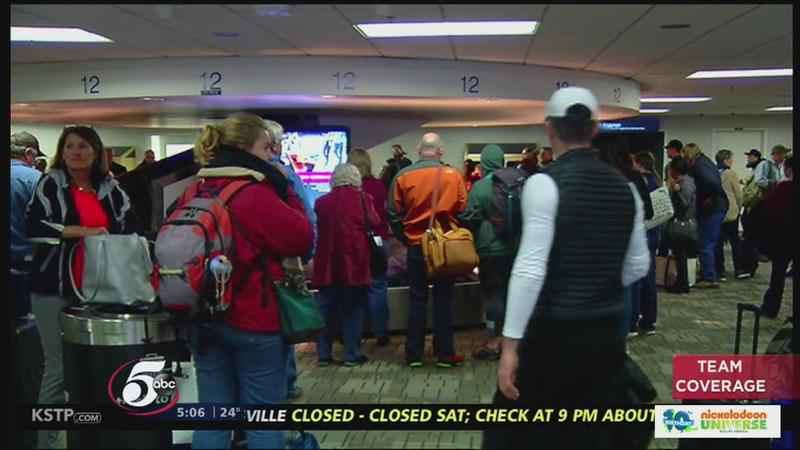 The Latest: Minneapolis Airport Closes as Storms Hit Midwest<br />
